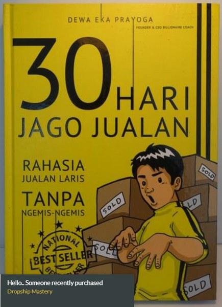 Buku 30 Hari Jago Jualan