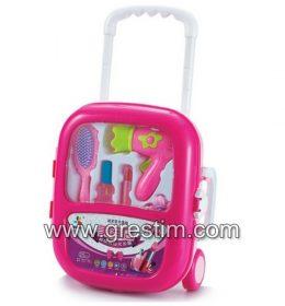 Cosmetics Kit Pretend Play Toys Makeup Set Trolley2Cosmetics Kit Pretend Play Toys Makeup Set Trolley2